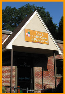 A to Z Childcare & Preschool building